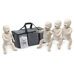 Prestan Professional Infant CPR/AED Training Manikin with CPR Monitor [4 Pack]