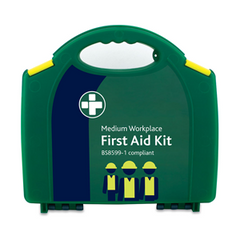 BSi BS-8599 British Standard Aura Workplace First Aid Kit [Medium]