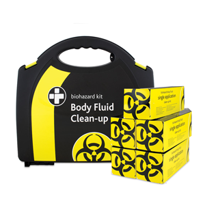 Biohazard Body Fluid Clean Up Kit (5 Pack)