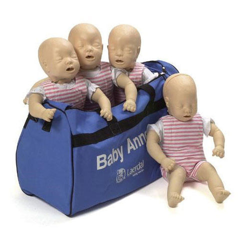 Laerdal Baby Anne with Softpack [4 Pack]