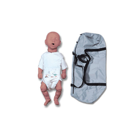 Newborn Baby Kim CPR Manikin with Soft Carry Bag