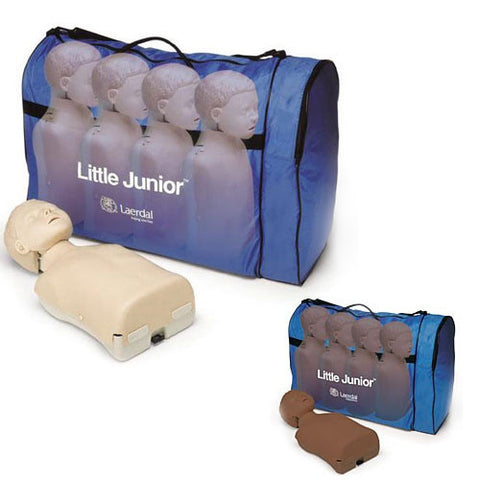 Laerdal Little Junior Manikin with Softpack [4 Pack]