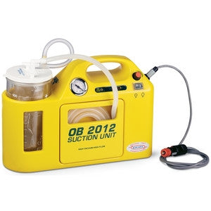 OB 2012 Portable Suction Unit [Autoclavable Jar Model]