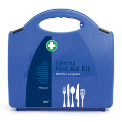BS8599-1 British Standard Aura Catering First Aid Kit [Medium]