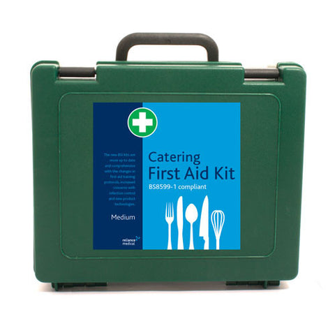 BS8599-1 British Standard Catering First Aid Kit [Medium]