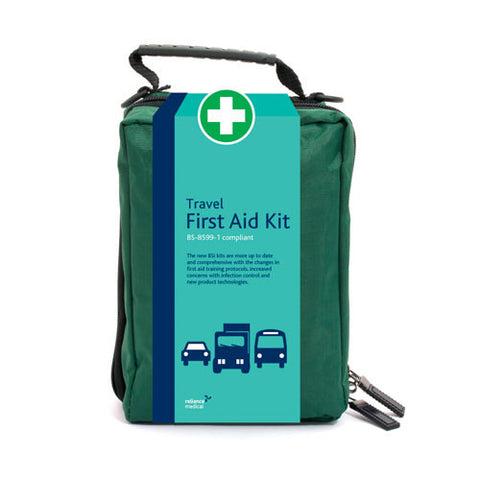 BS8599-1 British Standard First Aid Travel Kit [Pouch]