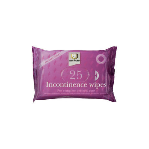 Reynard Incontinence Wipes [Pack of 25]