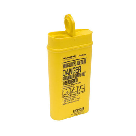 Sharpsafe Medicinal Sharps Container [Yellow]