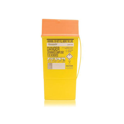 Sharpsafe Non-Medicinal Sharps Container [Orange]