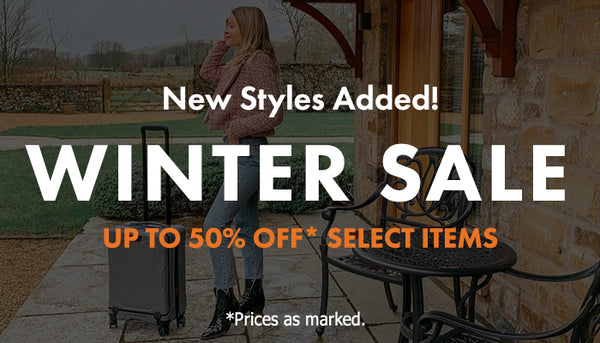Luggage On Sale NEW STYLES ADDED! UP TO 50% OFF SELECT ITEMS