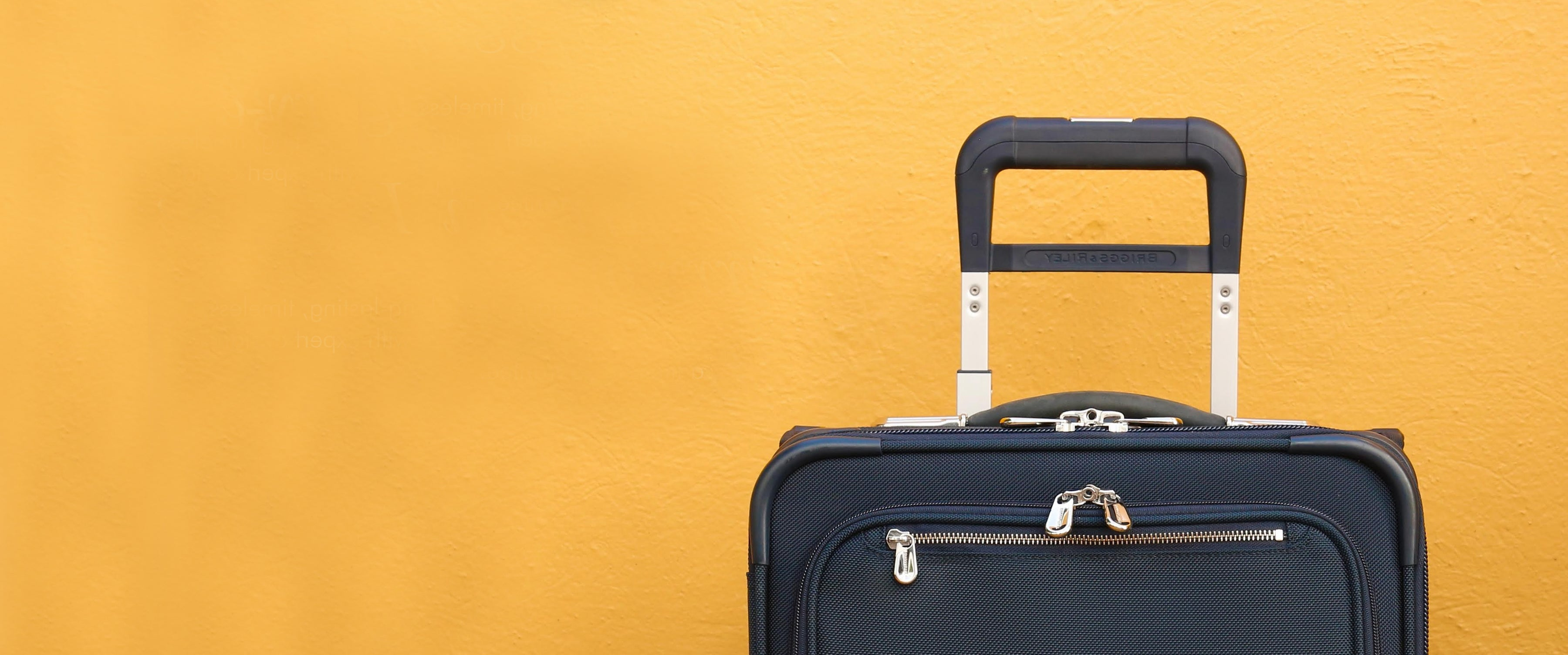 Carry-On Carry-on Luggage  Carry-on luggage that's long-lasting, timeless,  and makes travel a breeze with expert design and  a lifetime guarantee.