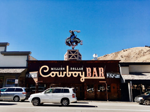Cowboy bar in Jackson Hole, Wyoming