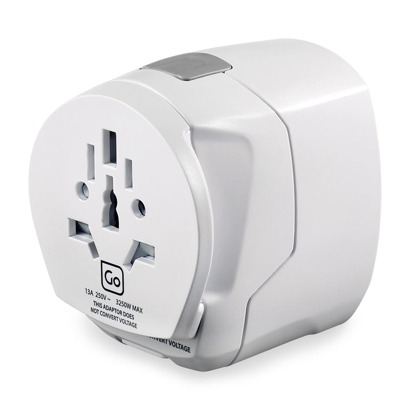 Grounded Worldwide Adapter + USB