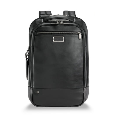 Leather Medium Backpack - thumb1