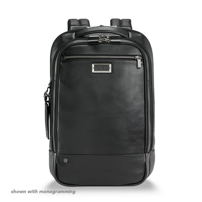 Leather Medium Backpack - thumb3