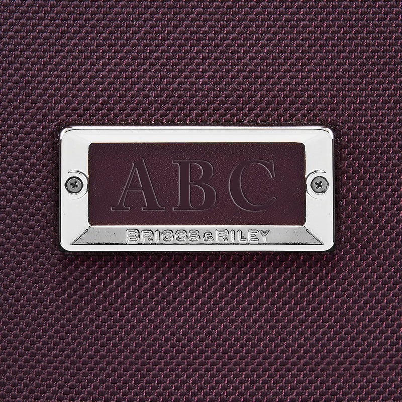 Baseline Plum Personalization Patch