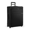 Large Expandable Two-Wheel Rolling Suitcase - image5