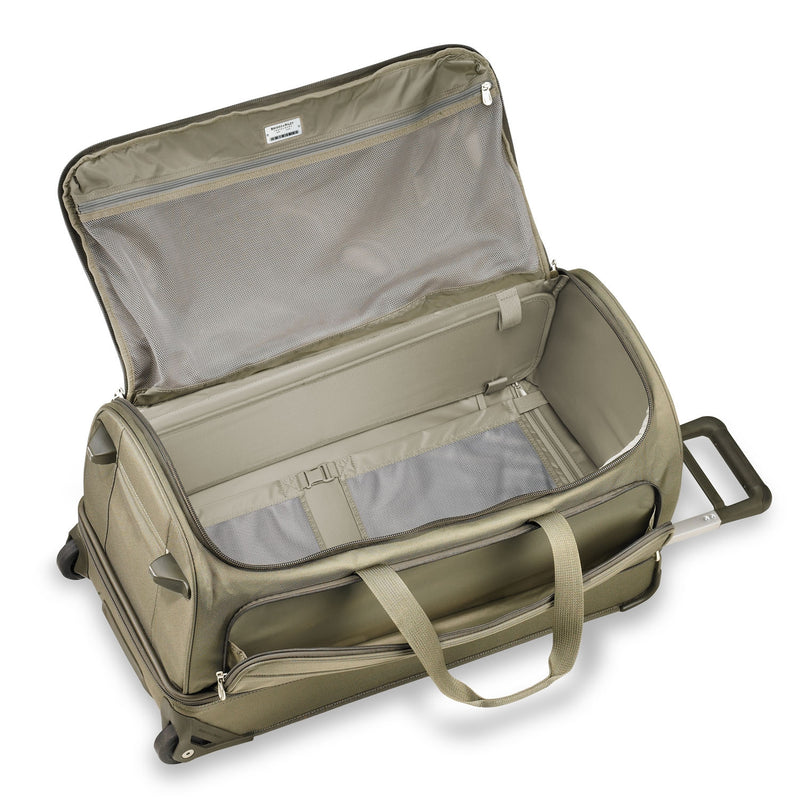 Large Upright (Two-Wheel) Duffle