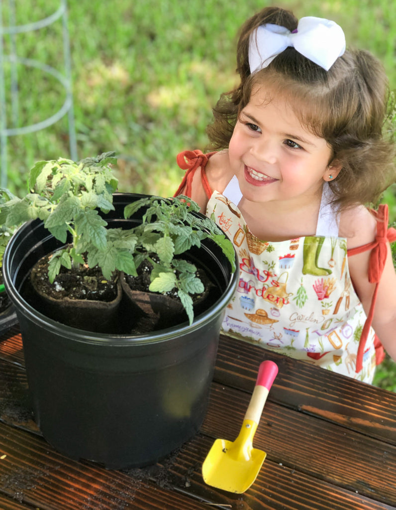 Let's Grow Tomatoes - Planting Tomatoes with Children