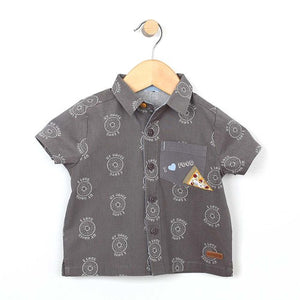 I Love My Bagel Woven Shirt - Little Owly