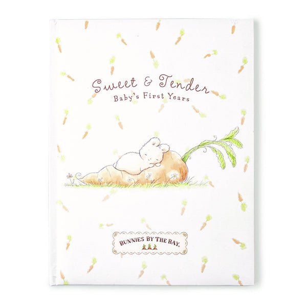 Sweet & Tender Baby Record Book - Little Owly