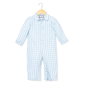 Gingham Romper - Little Owly