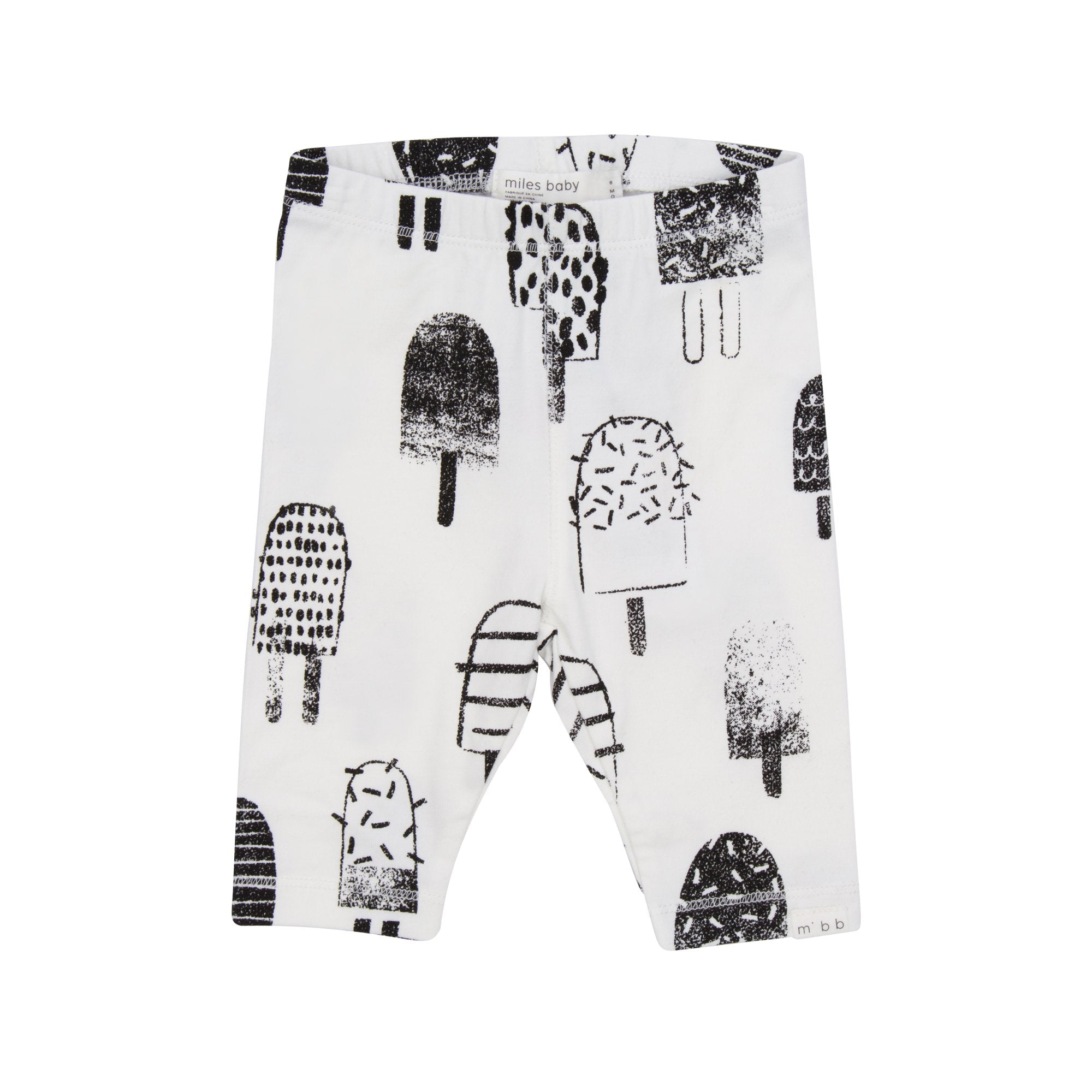 White Popsicle Leggings - Little Owly