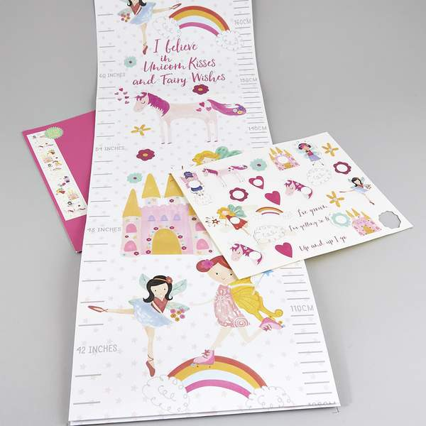 Fairy Unicorn Growth Chart - Little Owly