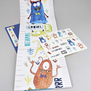 Monster Growth Chart - Little Owly