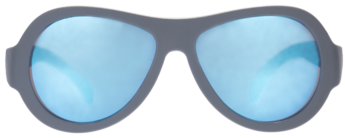 Premium Blue Steel Aviator Sunglasses