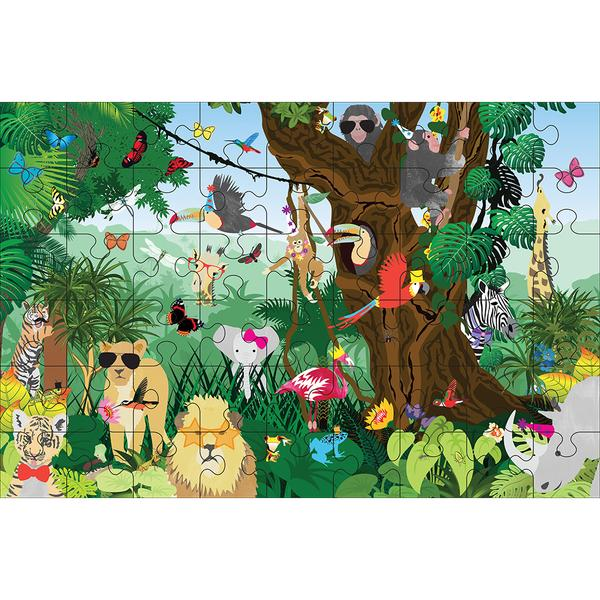 Go Wild 54-Piece Floor Jigsaw Puzzle - Little Owly