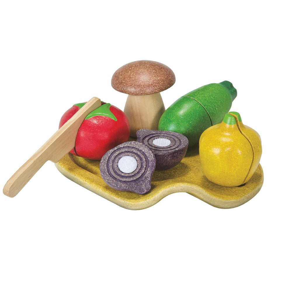 Wooden Assorted Vegetable Set - Little Owly