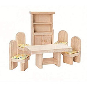 Play Classic Dollhouse Dining Set - Little Owly