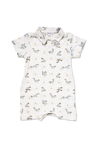 Lemur Bamboo Polo Shortie - Little Owly