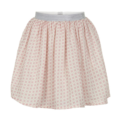 Rose Smoke Check Skirt - Little Owly