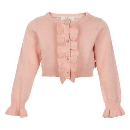 Crystal Pink Cardigan - Little Owly