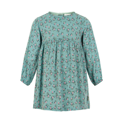 Aquifer Small Flower Long Sleeve Dress - Little Owly