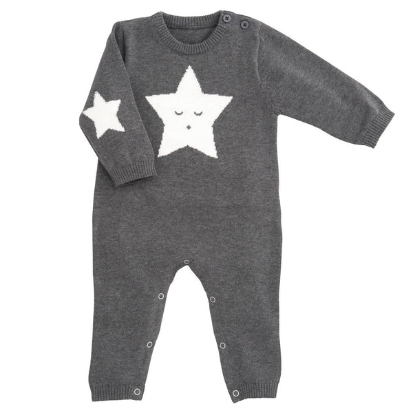 Star Knit Jumpsuit