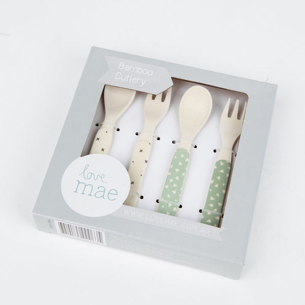 Stars Mix - 4 Piece Cutlery Set - Little Owly