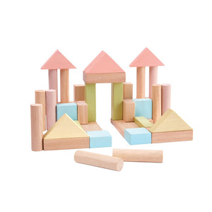 40 Piece Wooden Block Set - Little Owly