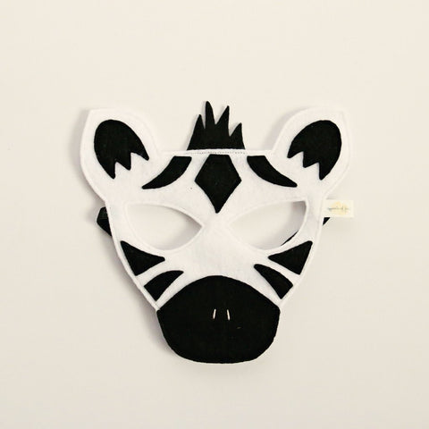 Zebra Mask - Little Owly