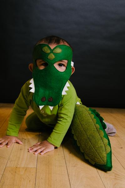 Alligator Mask - Little Owly