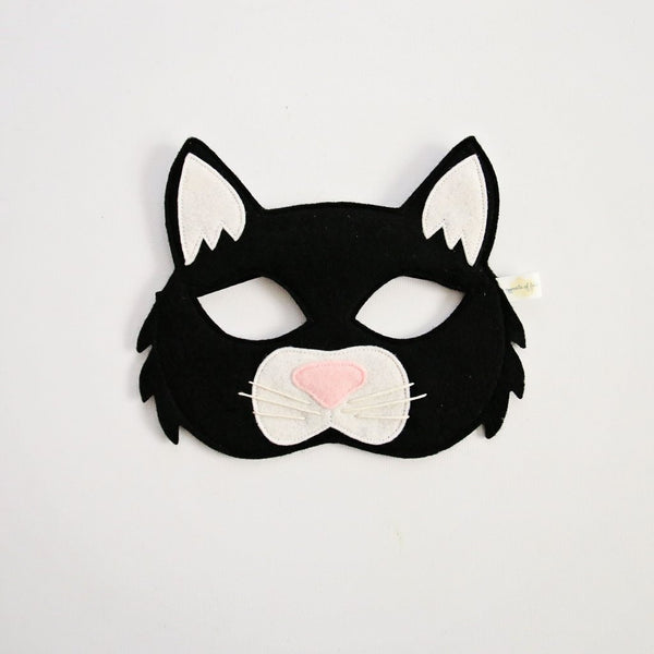 Black Cat Mask - Little Owly