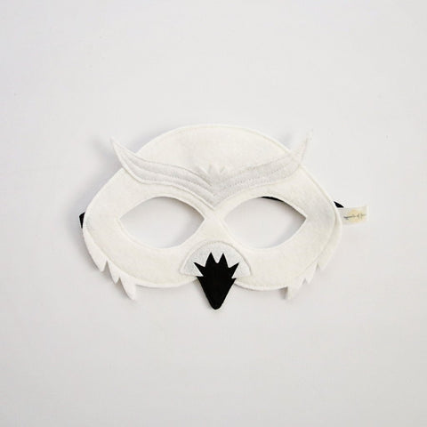 Snowy Owl Mask - Little Owly