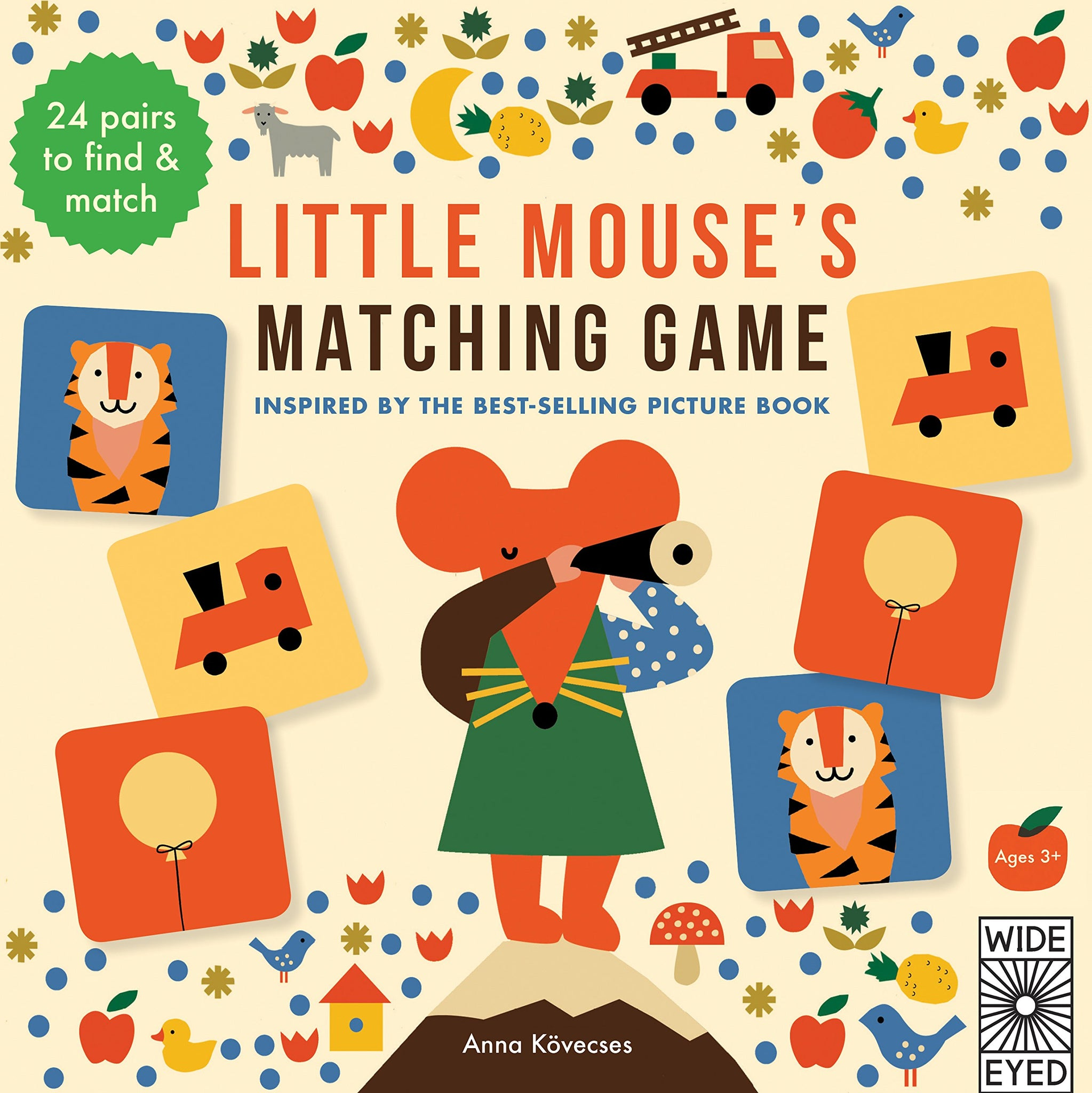 Little Mouse's Matching Game - Little Owly