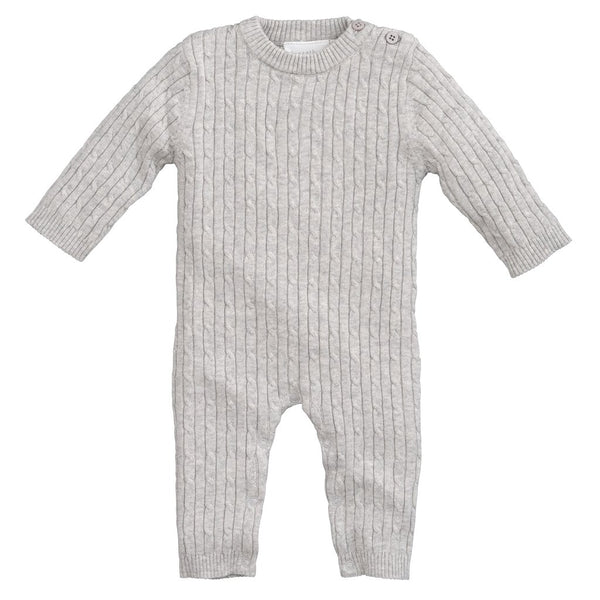 Cable Knit Jumpsuit - Little Owly