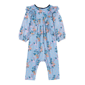 Pearl Floral Jumpsuit - Little Owly