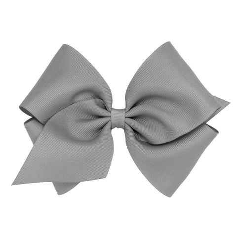 Mini King Classic Grosgrain Hair Bow - Little Owly