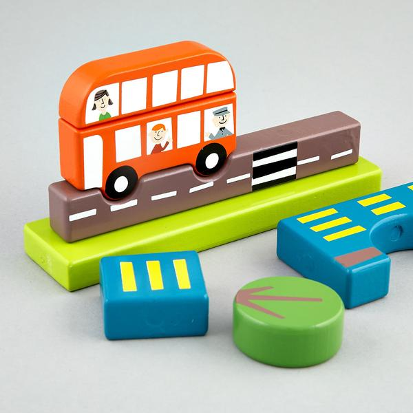 Transport Magnetic Puzzle
