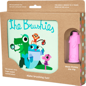 Pinkey the Pig and the Brushies Book - Little Owly